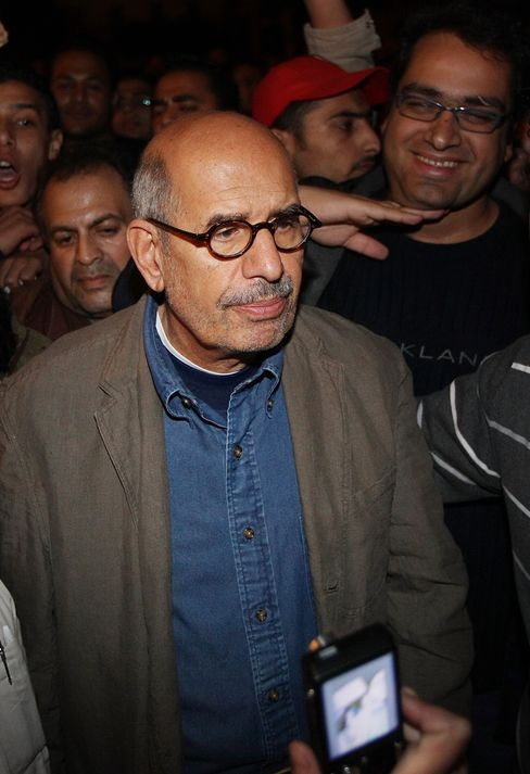Egyptian Opposition Campaigner Mohamed ElBaradei