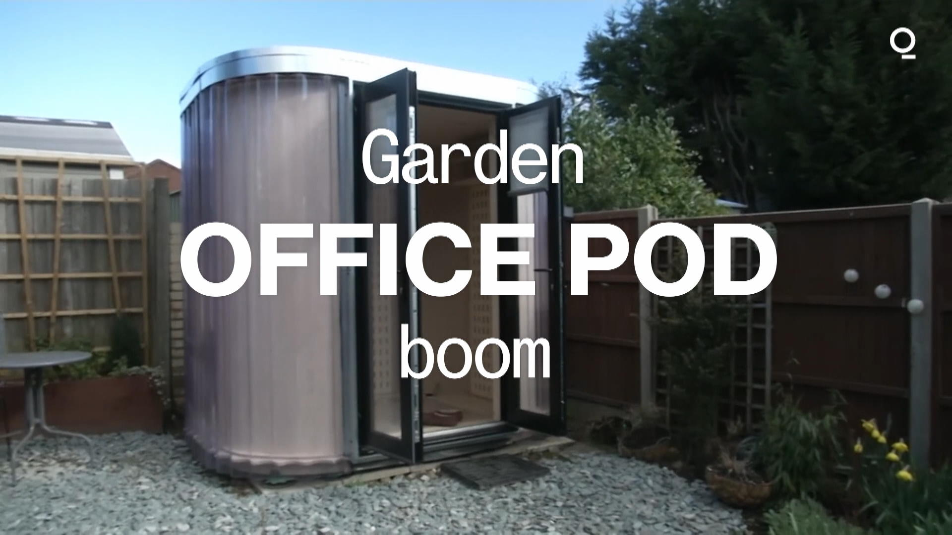 The Garden Office Pod Boom