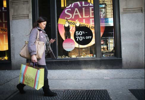 Consumer Spending in U.S. Climbs Even as Taxes Hurt Incomes