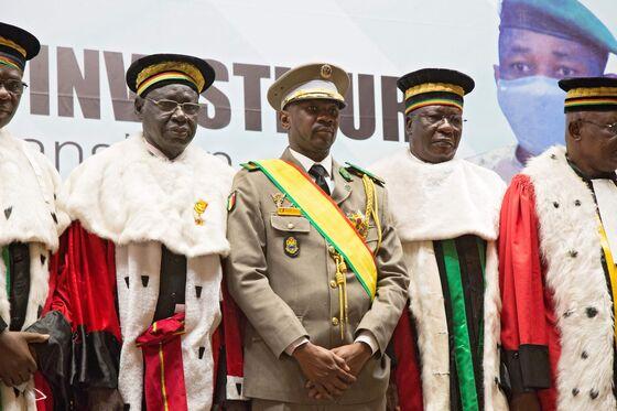 Mali Coup Leader Sworn in as Interim President