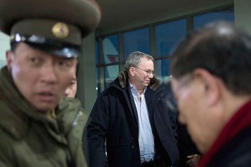 Why Is Google???s Eric Schmidt Going to North Korea?