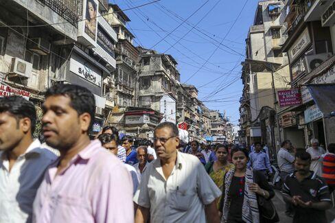 Zaveri Bazaar in Mumbai.