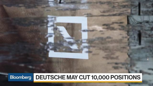 City jobs under threat as Deutsche Bank swings axe