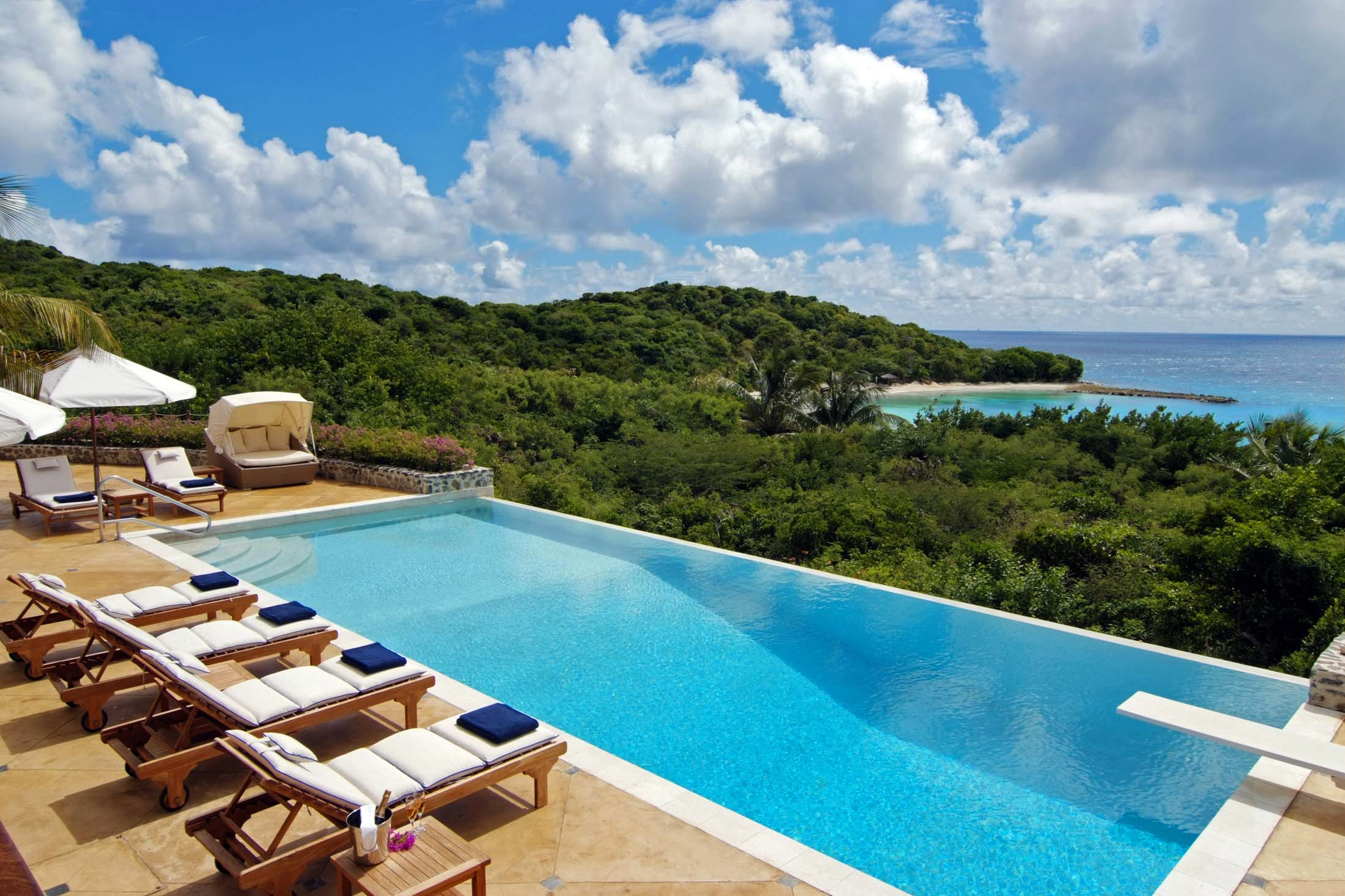 the caribbean resort where billionaires go to escape. Black Bedroom Furniture Sets. Home Design Ideas