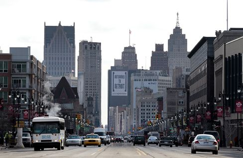 Detroit Sewer Bonds Seeks Buyers Shielded From Default