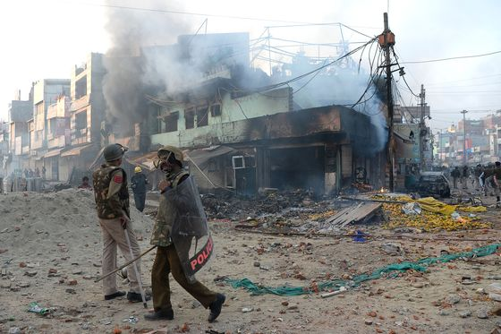 Communal Violence in India's Capital Leaves At Least 22 Dead