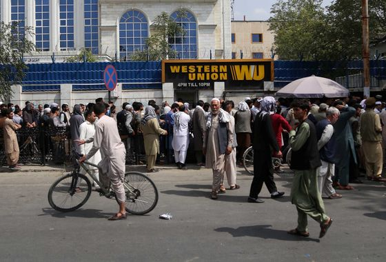 Biden Faces Sanctions Test in Afghanistan as Taliban Take Over