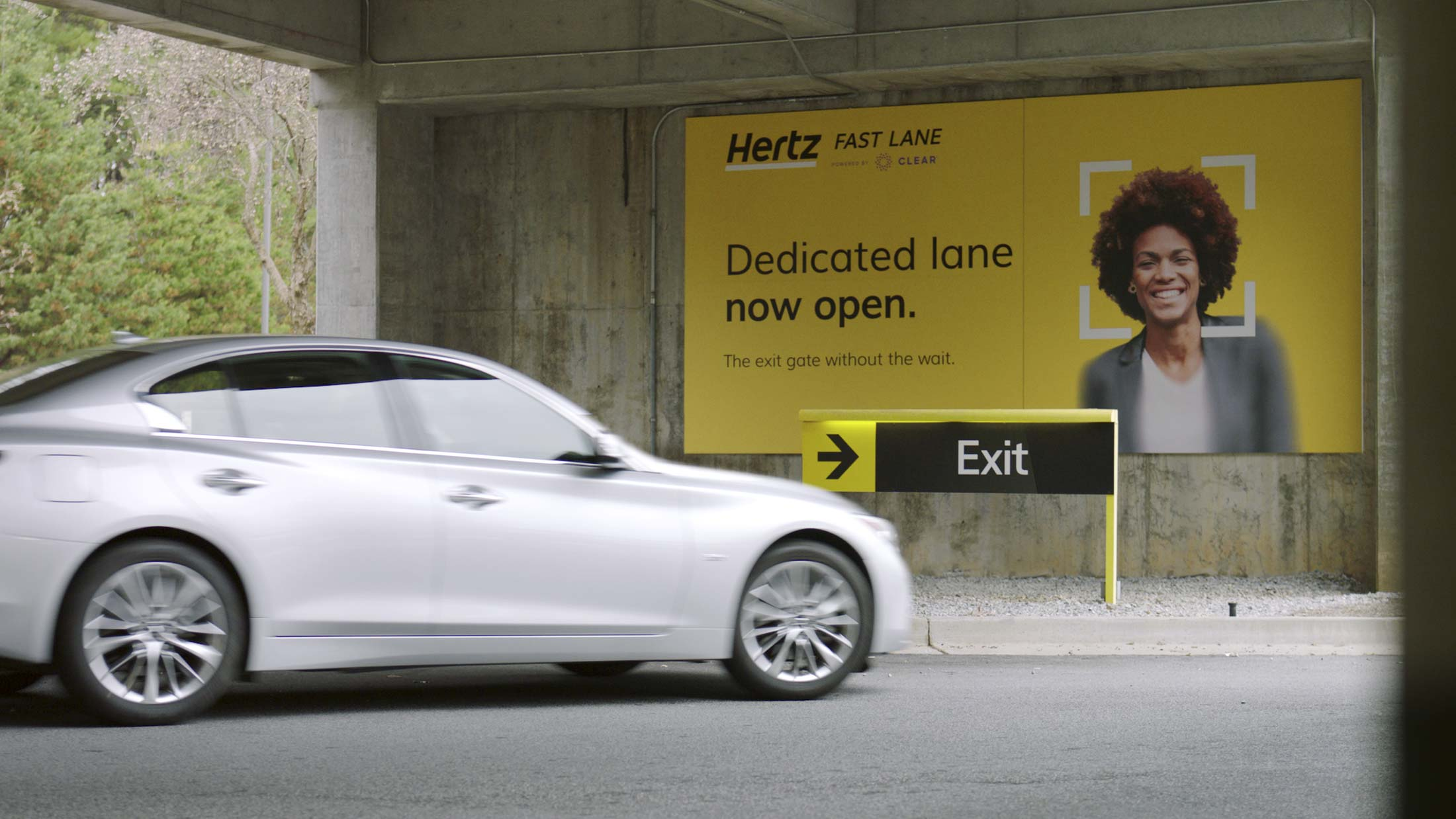 Hertz Atlanta Airport >> Hertz And Clear Promise To Eliminate Car Rental Counter Hell
