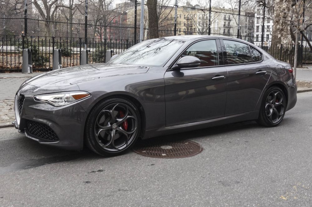 alfa romeo giulia ti rwd review: finally, a sedan that stands out