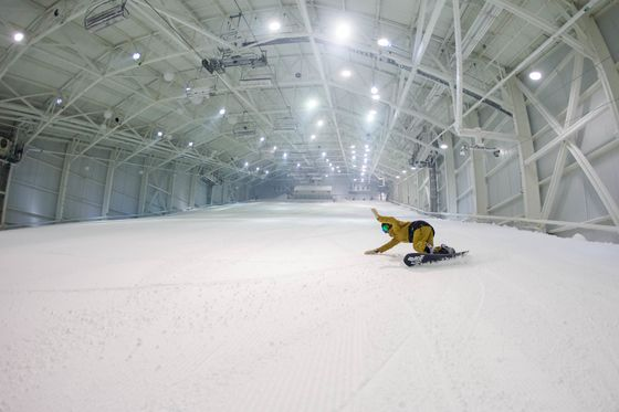 North America's First Indoor Ski Slope Feels a Lot Like the Real Thing