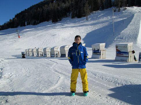 Chinese Ski Instructor Song Shuyao