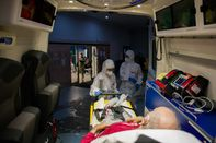 On The Virus Second Wave Frontline With France's Civil Protection Ambulance Service