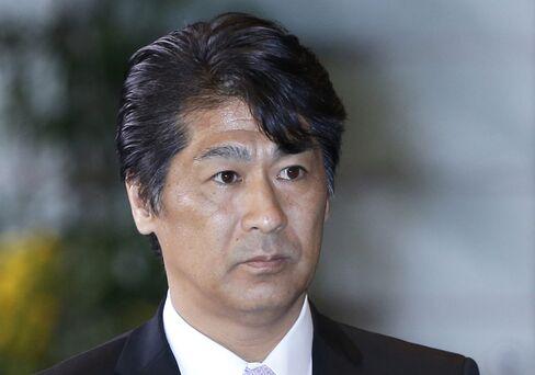 Japan's Health Minister Norihisa Tamura