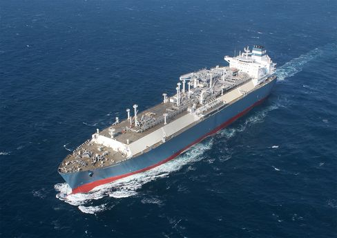 LNG Ship Independence