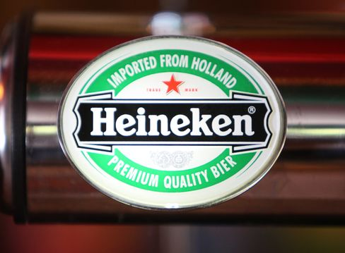 Heineken Reports First-Half Profit That Misses Estimates