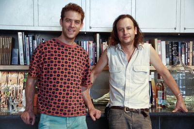 Arley Marks (left) Raphael Lyon (Right) of Enlightenment Wines