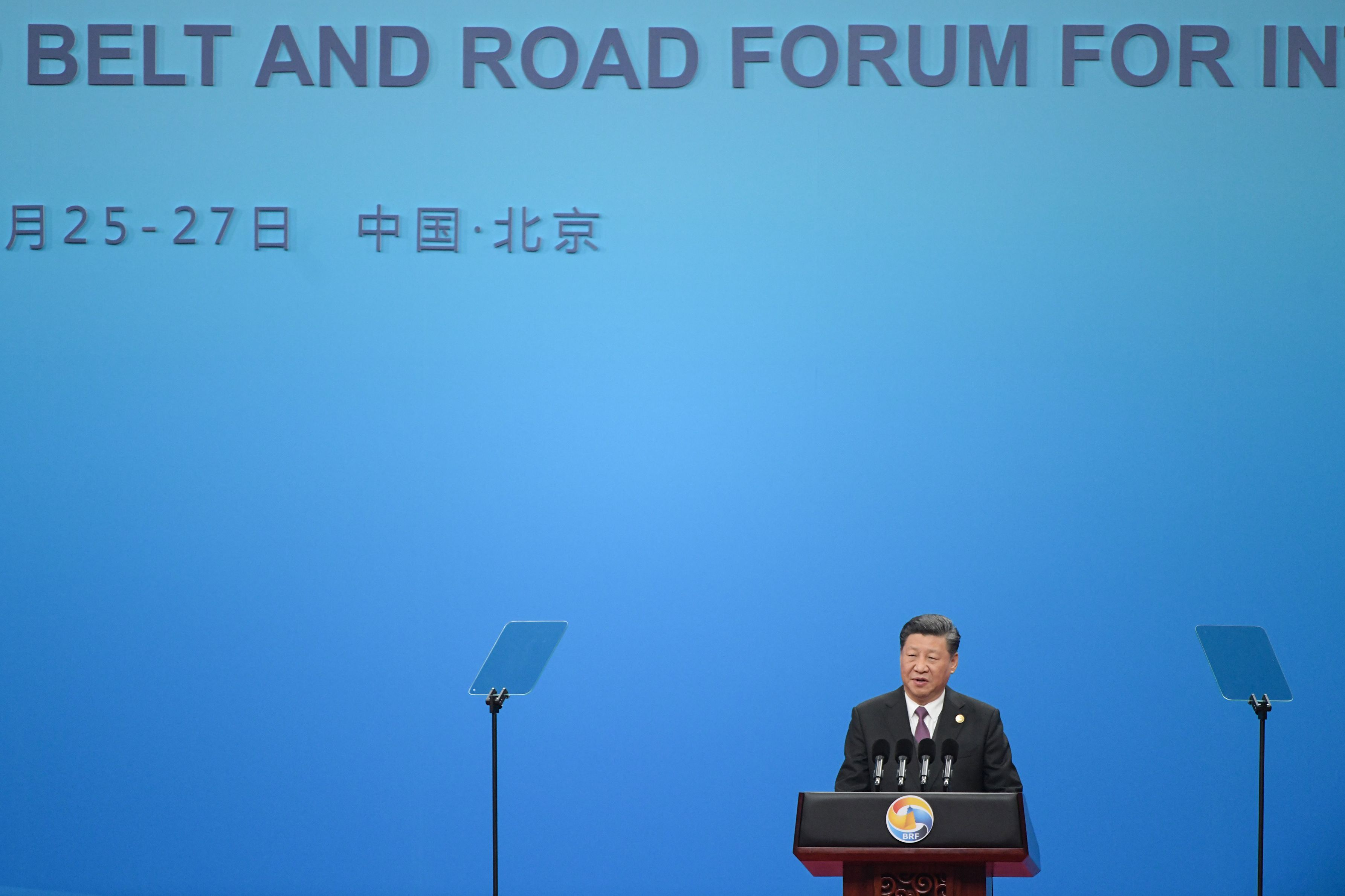 中国国家主席、「一帯一路」を擁護-腐敗許さずと表明 - Bloomberg