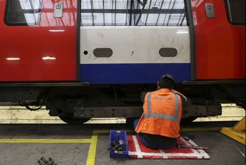 Alstom Train Production