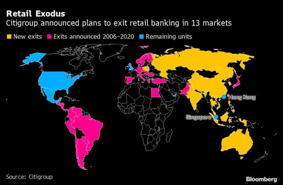 Citi's New CEO Taps Familiar Strategy With Retail Banking Exits