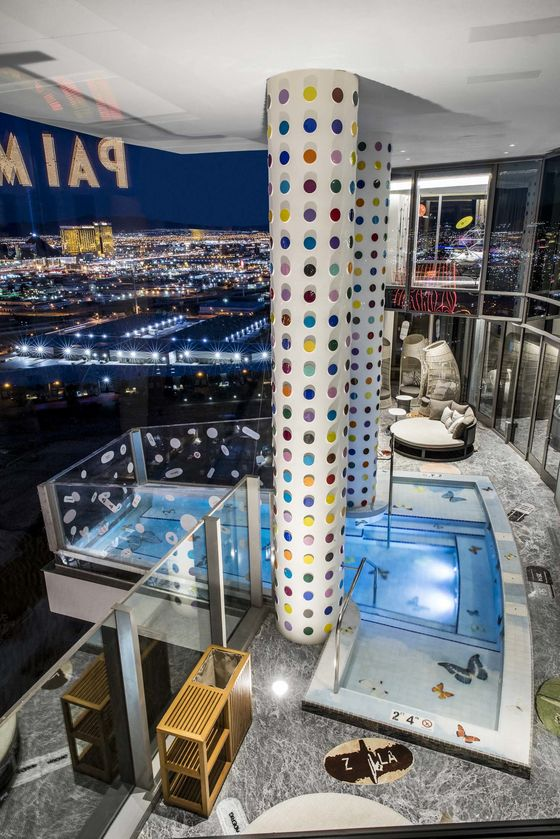 Why Damien Hirst Designed a $100,000-a-Night Vegas Hotel Room