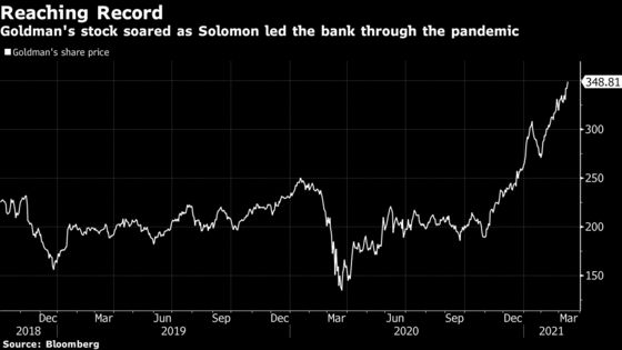 Goldman CEO's Year of Empty Offices, Island Getaways and Strife