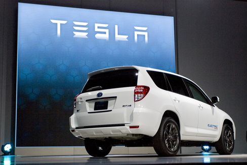 Toyota to Sell Tesla-Powered Electric RAV4 With for $49,800