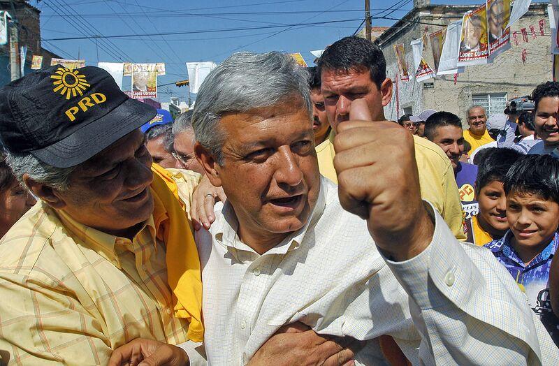 Andres Manuel Lopez Obrador, Mexican pre