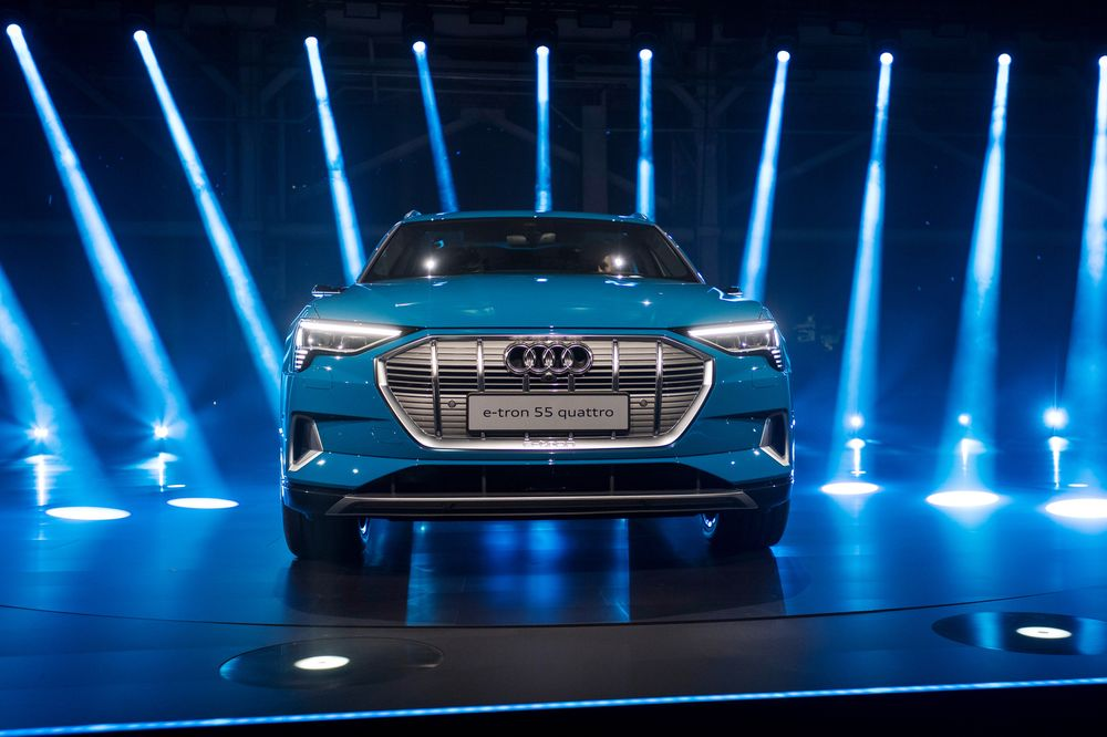 Inside The Audi E Tron Electric Suv Unveiling Event