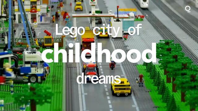 Lego City of Childhood Dreams