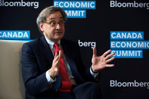 Caisse de Depot et Placement du Quebec CEO Michael Sabia