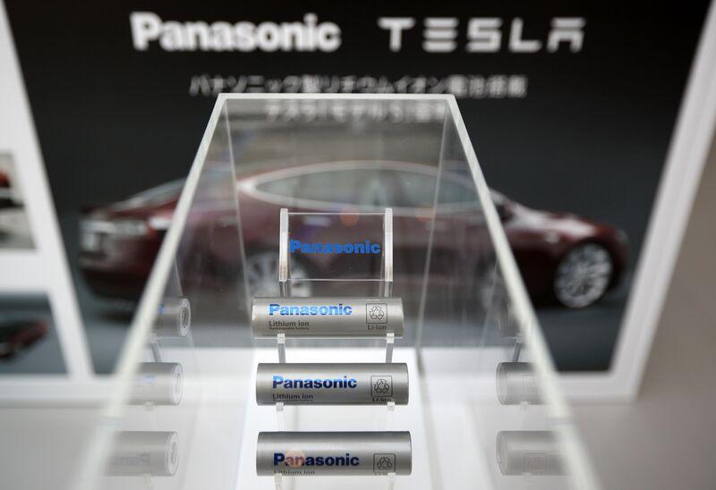 Tesla panasonic battery