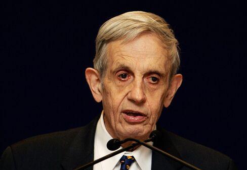 Noble Laureate Professor John Nash