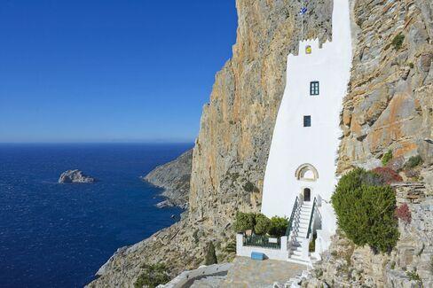Chozoviotissa monastery on Amorgos.