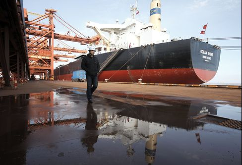 Shangai Port Worker