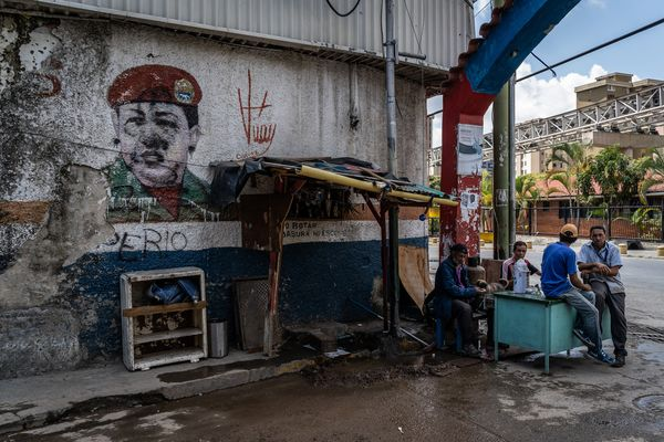 In The Caracas Slums That Loved Chavez, Maduro Is Now Despised