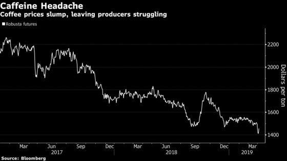 Lack of Coffee Gives Sellers a Headache as Farmers Hoard Beans