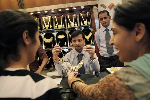 Gold Imports by India Seen Declining From Record