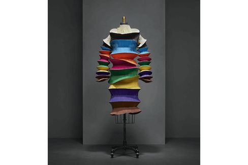 """A """"Flying Saucer"""" Dress by Issey Miyake from Spring/Summer 1994, which is included in the Manus x Machina exhibition"""