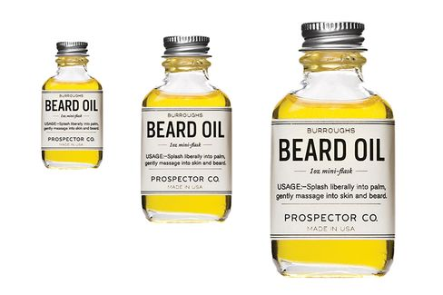 Prospector Co.'s Burroughs Beard Oil