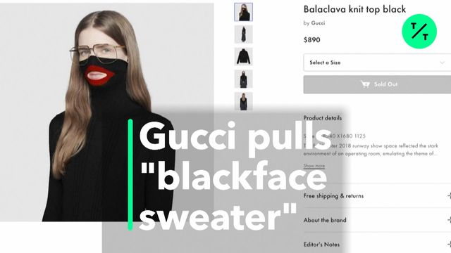 f9892d892c0 Gucci Pulls Sweater For Blackface Imagery Criticism - Bloomberg