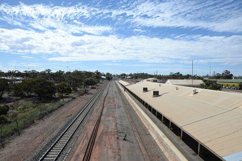 Train Tracks in Western Australia