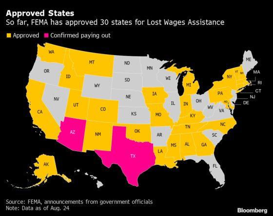 Many Americans Are Still Weeks Away From Getting Trump's Jobless Aid