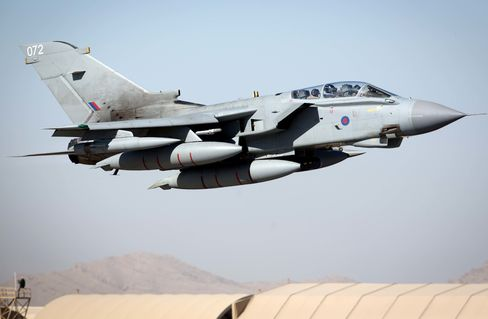 RAF Tornadoes End Their Combat Mission In Afghanistan