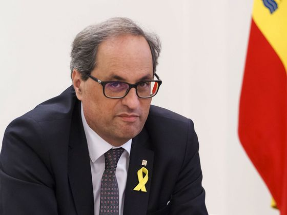 Catalan President Won't Accept Jail Time for Separatist Leaders