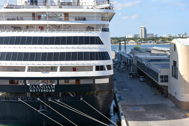 Holland America Cruise Ships Arrives At Port Of Everglades Carrying Sick Passengers