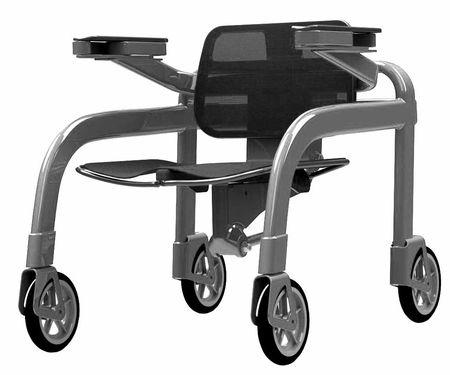 A Hybrid Wheelchair-Walker From the Inventor of the Steadicam