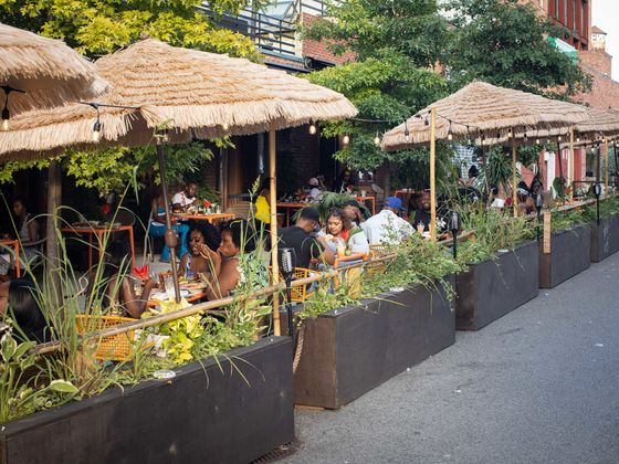 The Best of New York's Bold Outdoor Dining Experiences