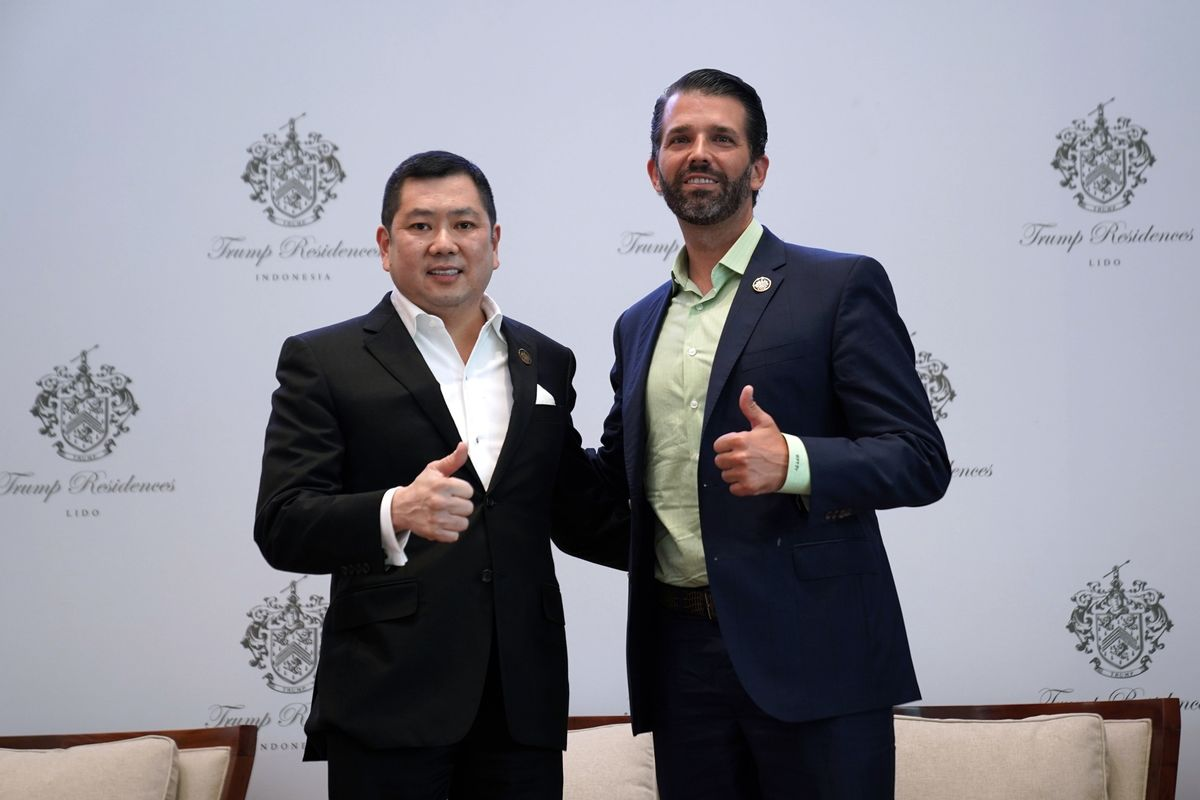 Trump Jr. Kicks Off Sale of Luxury Condos in Indonesian Projects