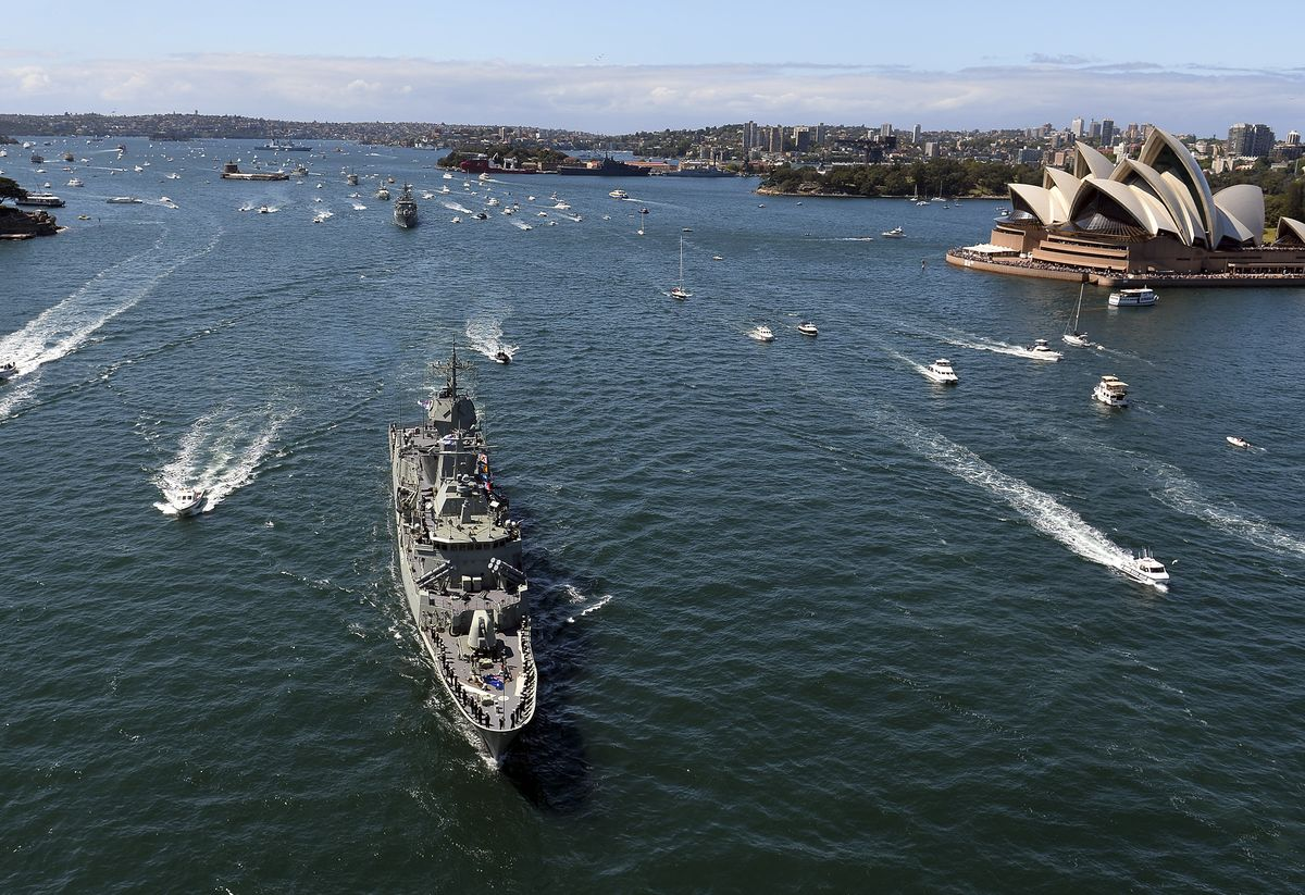 Australia to Take Part in Naval Drill With U.S., India and Japan