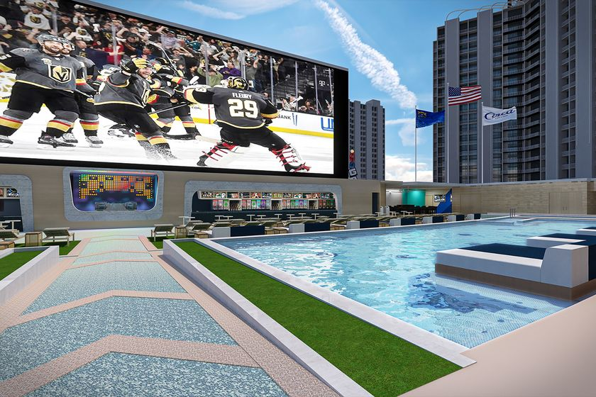 relates to Vegas Pool Party Gets Makeover With Gambler's $1 Billion Resort